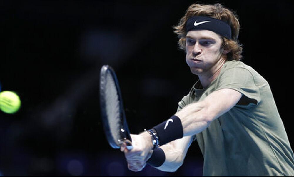 ATP Finals: «Αντίο» με «ψηλά το κεφάλι» είπε ο Ρούμπλεφ (video+photos)