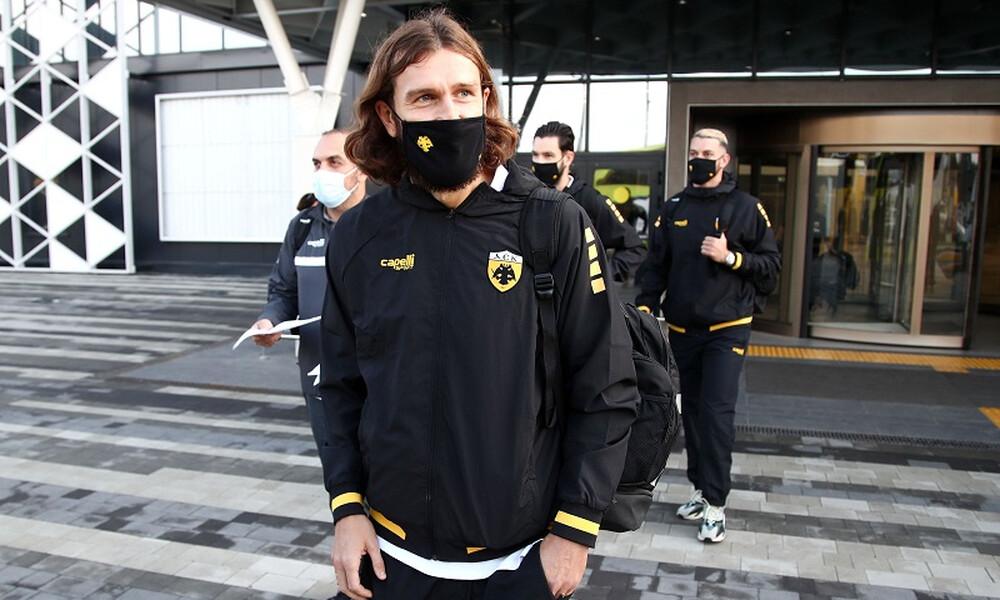 AEK: Αρνητικό τεστ και... επιστροφή για Τσιγκρίνσκι