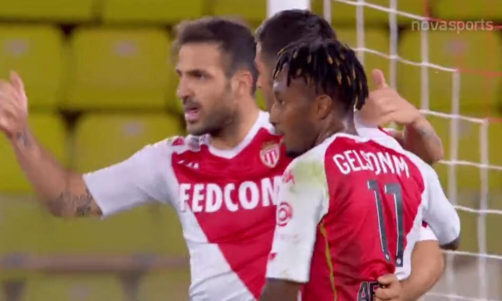 Ligue 1: Τρομερή ανατροπή η Μονακό - Έβαλε τέλος στο σερί της Παρί (video)