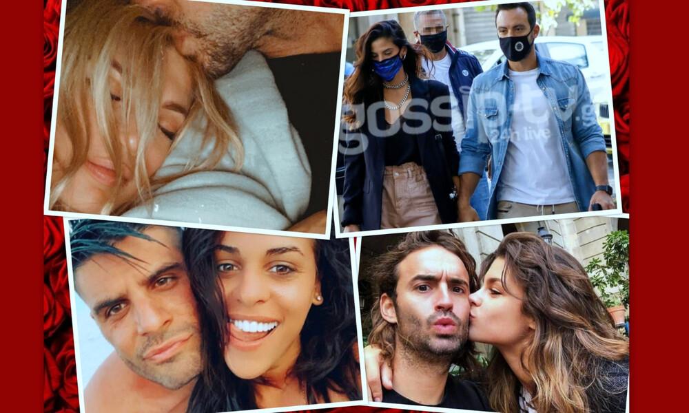 Lockdown: Ποιοι celebrities περνούν την πιο ερωτική καραντίνα; (photos)
