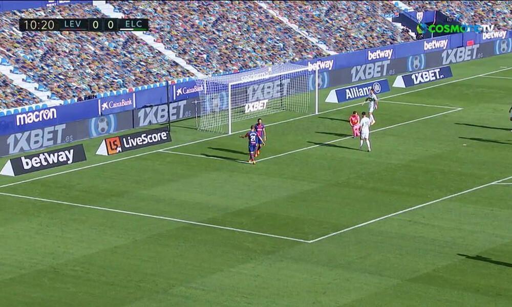 La Liga: Μοιρασιά για Έλτσε και Λεβάντε (video)