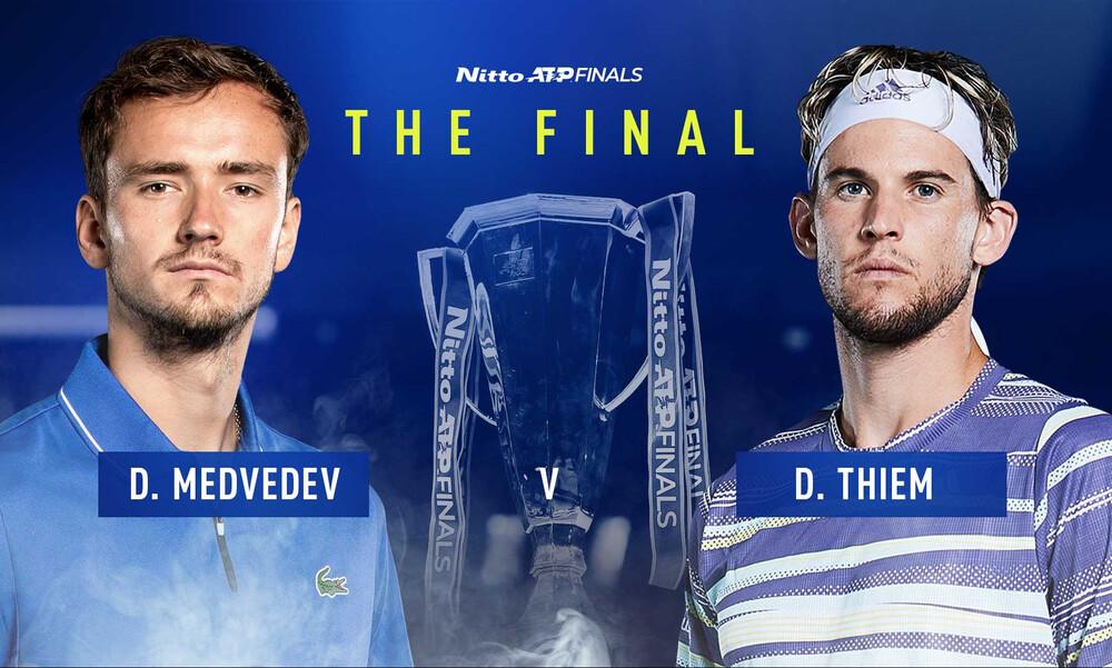 ATP Finals: Η ώρα της στέψης έφτασε, Τιμ ή Μεντβέντεφ ο μεγάλος τελικός!