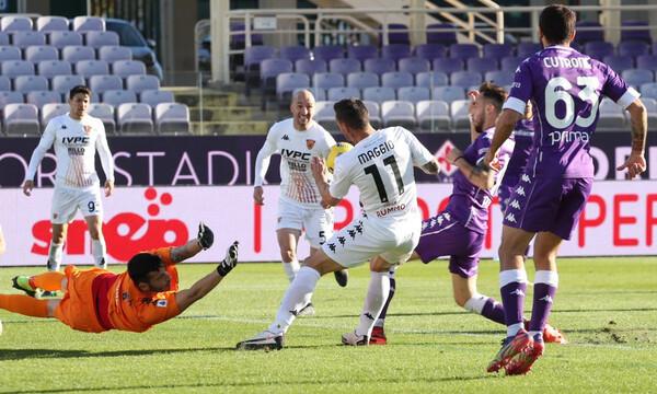 Serie A: Η Μπενεβέντο σόκαρε τη Φιορεντίνα (video)