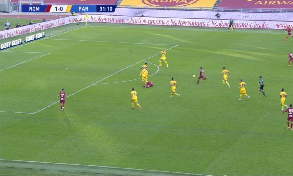 Serie A: «Γκρέμισε» τα δίχτυα με απίθανη «οβίδα» ο Μκιταριάν της Ρόμα (video)