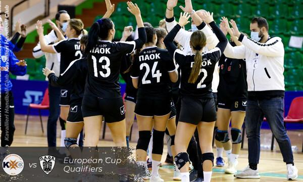 ΠΑΟΚ: Ιστορική πρόκριση στους «16» του European Cup για την ομάδα χάντμπολ γυναικών