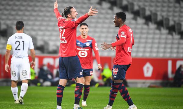 Ligue 1: Πάρτι η Λιλ με τη Λοριάν και δεύτερη θέση (video)