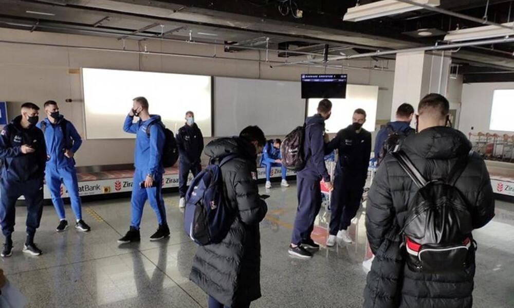Εθνική ομάδα: Έφτασε στο Σαράγεβο (video)