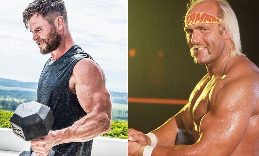 O Chris Hemsworth μεταμορφώνεται σε Hulk Hogan
