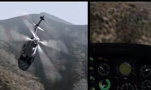 Κόμπι Μπράιαντ: Ανατριχιαστική η προσομοίωση της μοιραίας πτήσης (video)