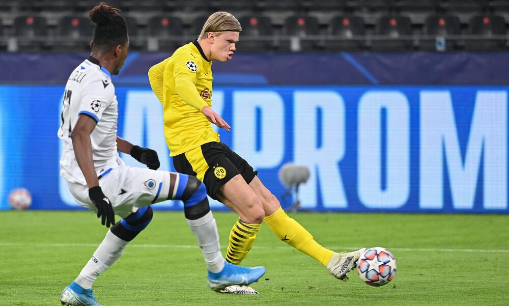 Champions League: Με Χάαλαντ η Ντόρτμουντ έφτασε τα 200 γκολ στην διοργάνωση! (video)