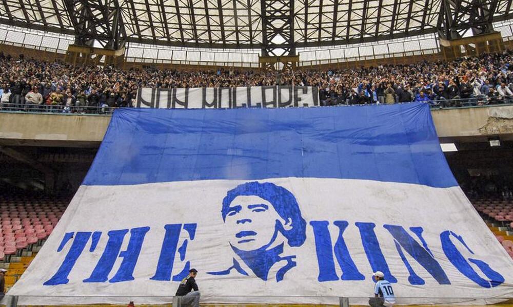 Ντιέγκο Μαραντόνα: Τον Σαν Πάολο παίρνει το όνομά του! (photos)