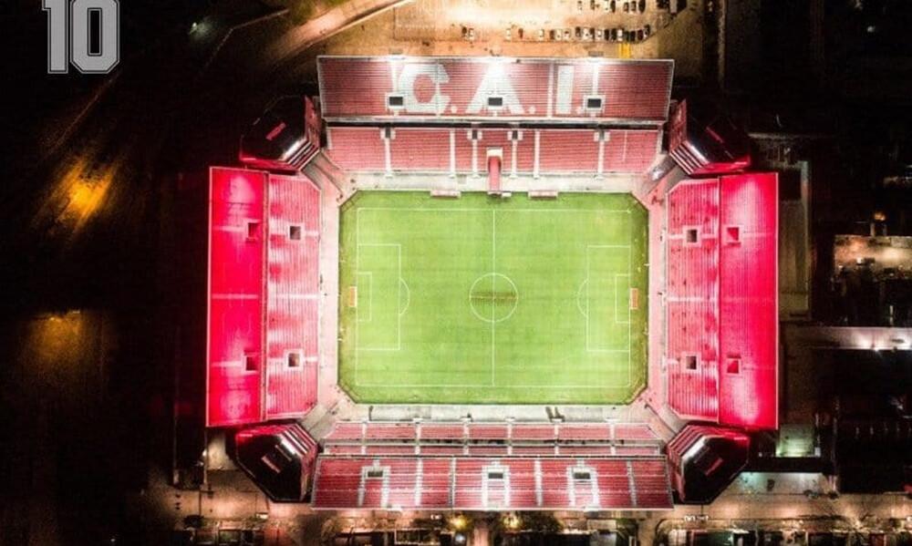Ντιέγκο Μαραντόνα: Φωταγωγήθηκαν όλα τα γήπεδα στη Αργεντινή!