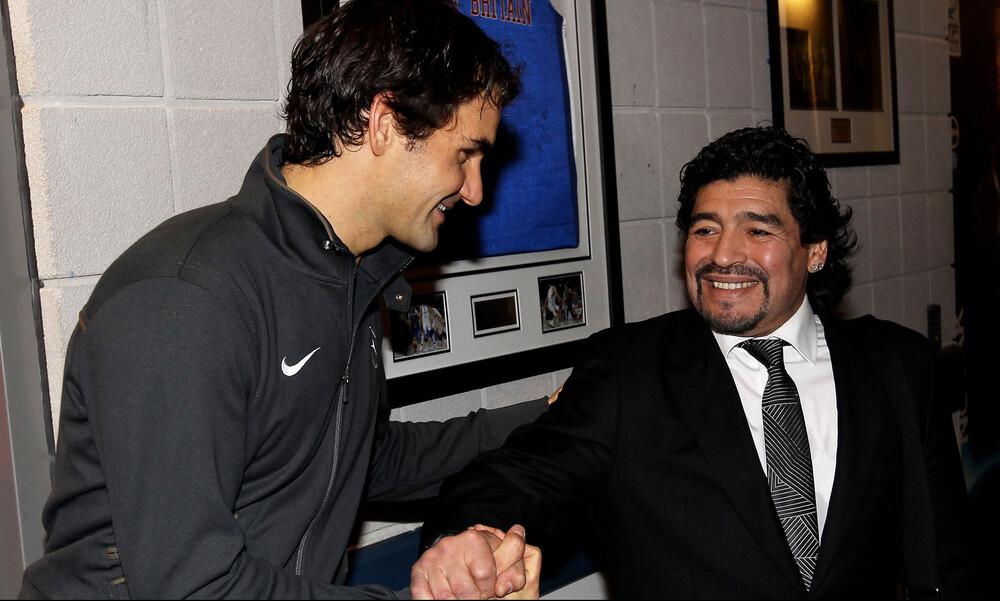 Ντιέγκο Μαραντόνα: Το παγκόσμιο τένις αποχαιρετά τον Θεό (photos+ videos)