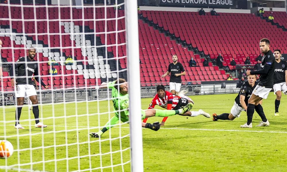 Αϊντχόφεν - ΠΑΟΚ: Δυο γκολ σε δυο λεπτά και ανατροπή για τους Ολλανδούς (videos)