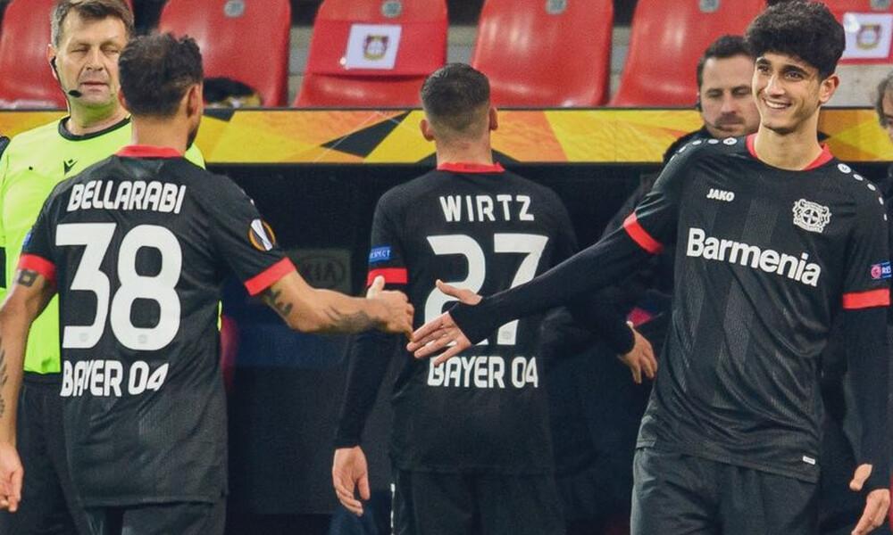 Europa League - 3ος όμιλος: «Καθάρισαν» Μπάγερ και Σλάβια