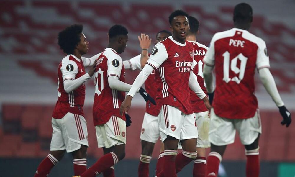 Europa League - 2ος ΟΜΙΛΟΣ: Στους «16» η Άρσεναλ, μάχη για Ραπίντ και Μόλντε