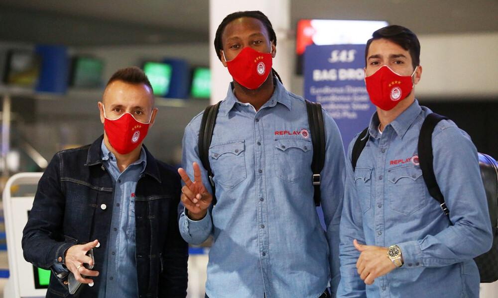 Ολυμπιακός: Αναχώρησε για Θεσσαλονίκη (photos)