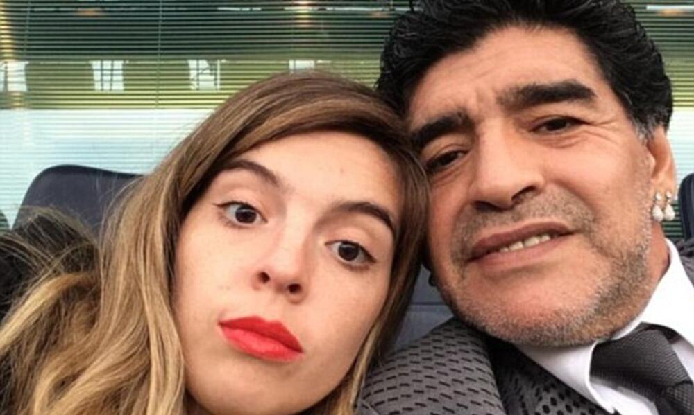 Ντιέγκο Μαραντόνα: Τo σπαρακτικό «αντίο» της Ντάλμα στον πατέρα της (photos)
