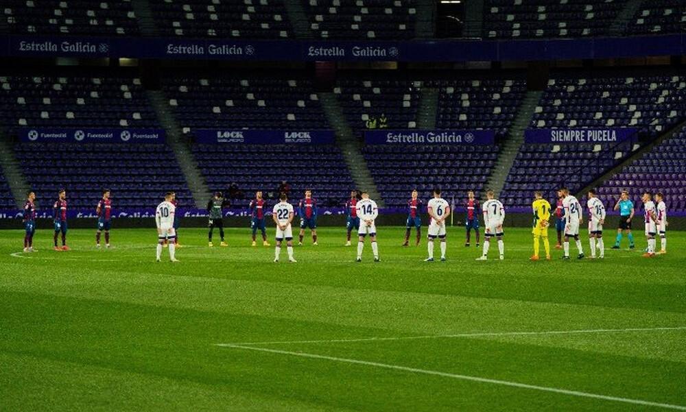La Liga: «Μοιρασιά» για Βαγιαδολίδ και Λεβάντε (Video & Photos)