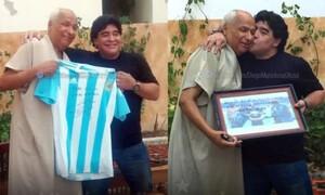 Μαραντόνα: Λύγισε και ο διαιτητής που δεν είδε το «Χέρι του Θεού» (photos+video)