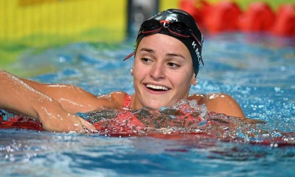 Κολύμβηση: Νέο Παγκόσμιο ρεκόρ στα 200μ. ύπτιο για την Κέιλι ΜακΚίοουν