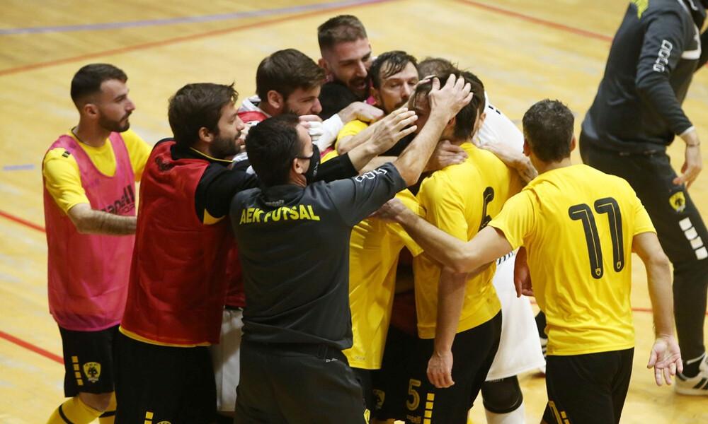 ΑΕΚ-Futsal: Ιστορική πρόκριση στους «32» του Champions League