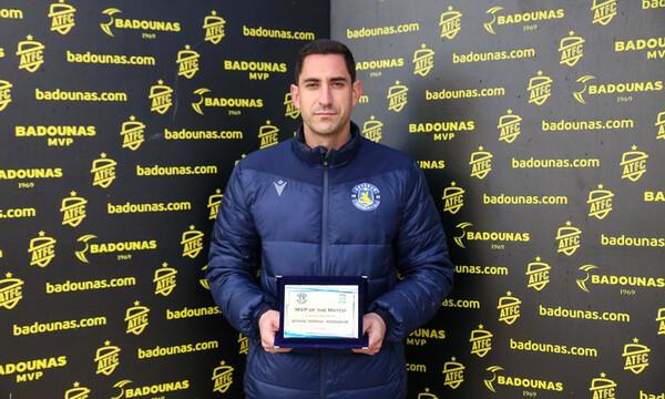 Παπαδόπουλος: «Μπορούμε τη νίκη με ΑΕΚ» (photos+video)