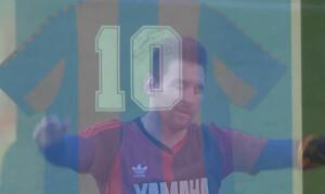Συγκλόνισε ο Μέσι - Το γκολ-αφιέρωση στον Ντιέγκο Μαραντόνα (video+photos)