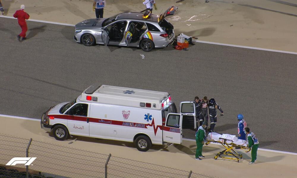Formula 1: To ιατρικό ανακοινωθέν για την κατάσταση του Γκροζιάν (photos)