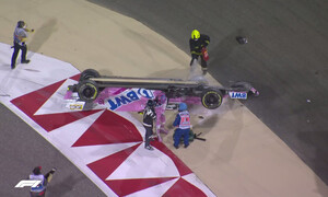 F1: Νέο ατύχημα στο Grand Prix του Μπαχρέιν - Διακοπή στον αγώνα