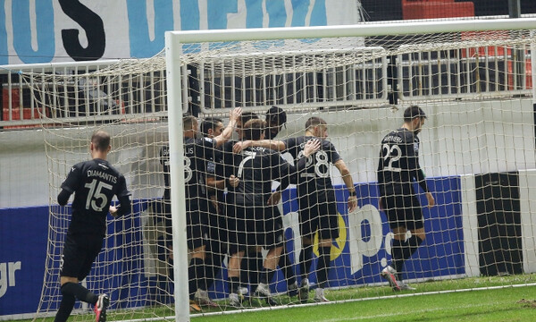 ΟΦΗ-ΠΑΣ Γιάννινα: Το γκολ του Νέιρα και η αφιέρωση στον Μαραντόνα (video)