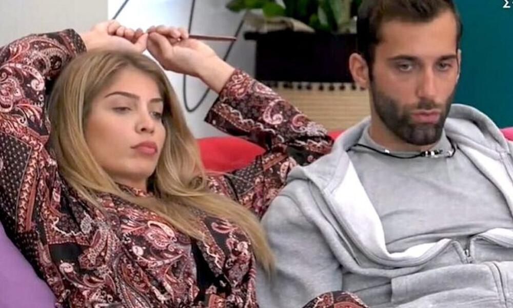 Big Brother: Σοφία Δανέζη και Δημήτρης Κεχαγιάς σε νέα πλάvα στο σπίτι (photos)