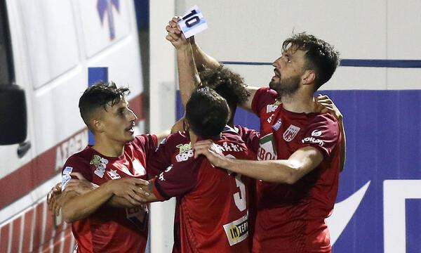 Απόλλων Σμύρνης-ΝΠΣ Βόλος 3-3: Τα γκολ στο «τρελό» ματς της Ριζούπολης! (video)