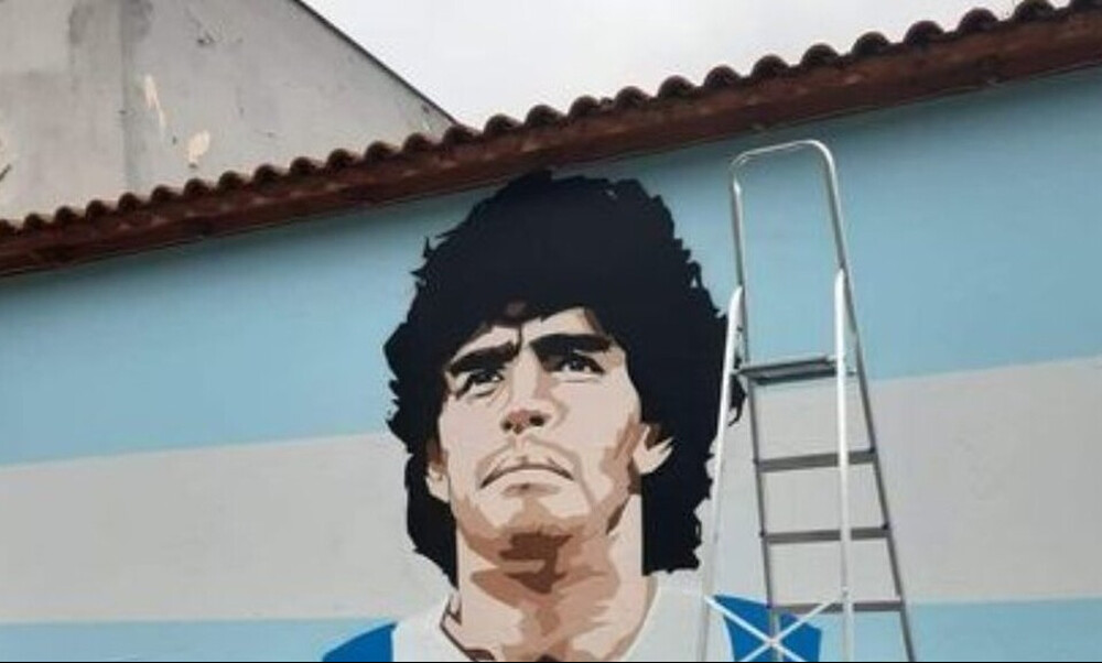Μαραντόνα: Αυτός είναι ο Έλληνας δημιουργός του μυθικού γκράφιτι για τον «Θεό»
