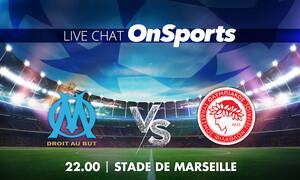 Live Chat Μαρσέιγ-Ολυμπιακός 2-1 (Τελικό)
