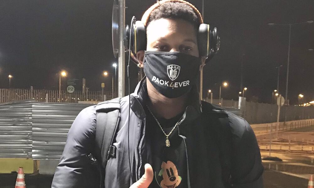 ΠΑΟΚ: Έφτασε νωρίτερα ο Κονατέ