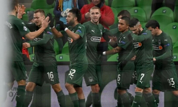 Champions League: Με Μπεργκ στο Europa League  η Κράσνονταρ, πήρε το θρίλερ η Λειψία