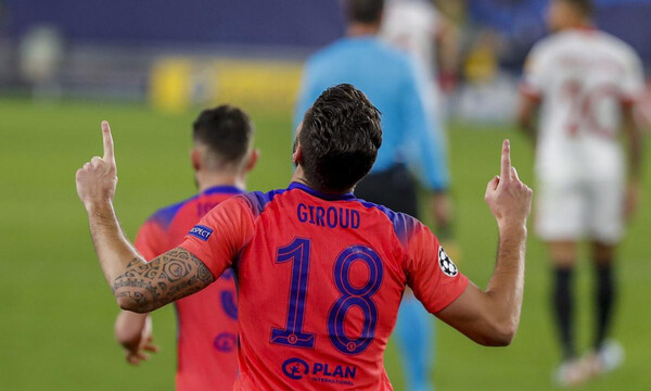 Champions League: Έγραψε ιστορία ο Ζιρού (photos+video)