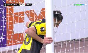 ΑΕΚ-Μπράγκα: Αυτό το γκολ ΔΕΝ χάνεται, αλλά ο Ολιβέιρα το κατάφερε (video)