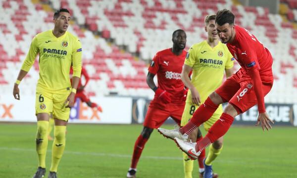 Europa League: Πρόκριση για Βιγιαρεάλ, τελικός πρόκρισης για Μακάμπι, Σίβασπορ (videos+photos)