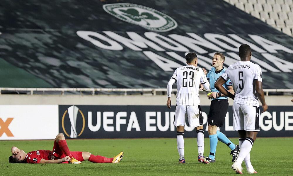 Ομόνοια-ΠΑΟΚ 2-1: Άφαντος στον «τελικό» και πικρός αποκλεισμός (videos+photos)