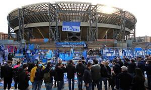 Ντιέγκο Μαραντόνα: Το γήπεδο της Νάπολι πήρε το όνομα του «Θεού» (photos+video)