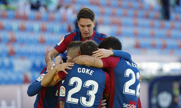 La Liga: Γκολ η Λεβάντε, κόκκινες η Χετάφε! (Photos & Video)