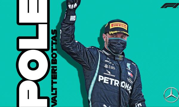 F1: Έλειψε ο Χάμιλτον και «χόρεψε» ο Μπότας (photos)