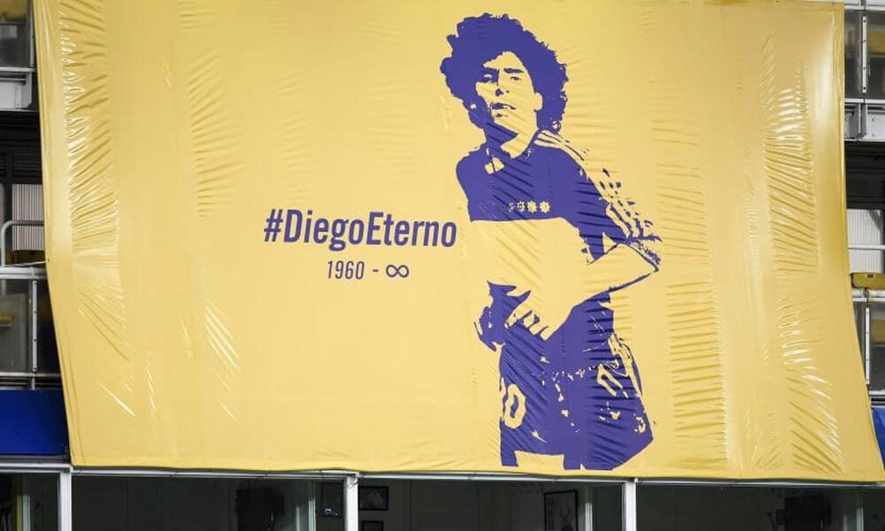 Ντιέγκο Μαραντόνα: Μπαίνει στο σήμα της Μπόκα Τζούνιορς (photos)