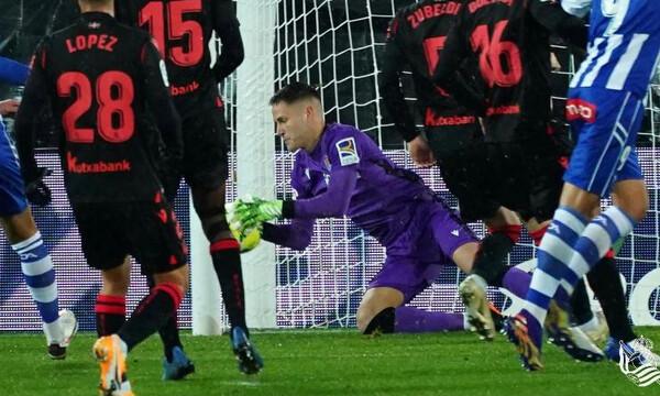 La Liga: «Στραβοπάτημα» της Σοσιεδάδ και πλέον 2η!
