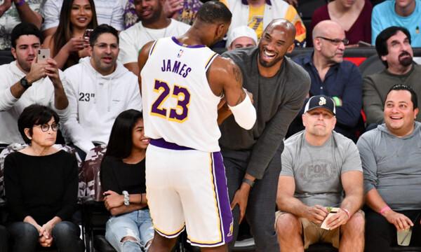 NBA: Συγκίνησε ο Λεμπρόν για Κόμπι - Η κίνηση που κανείς δεν περίμενε (photos)