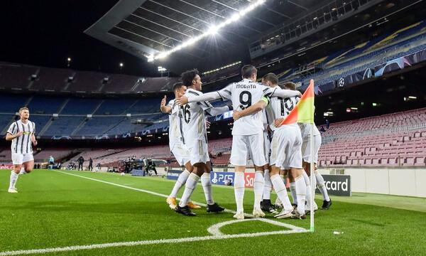Champions League: Μαγική Γιουβέντους στο Καμπ Νου - Κάνει πλάκα στη Μπάρτσα (photos+videos)