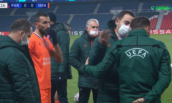 Champions League: «Τον απέβαλες λόγω του χρώματος του» (video)