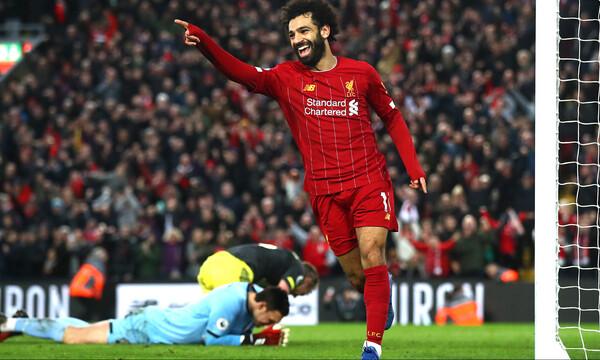 Champions League: Σκόραρε στα 56 δευτερόλεπτα και έγραψε ιστορία ο Σαλάχ (video)